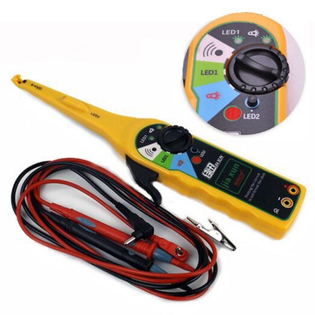 automotive electric power circuit tester 0 380v automotive rh aliexpress com electrical wiring testing best electrical wire tester