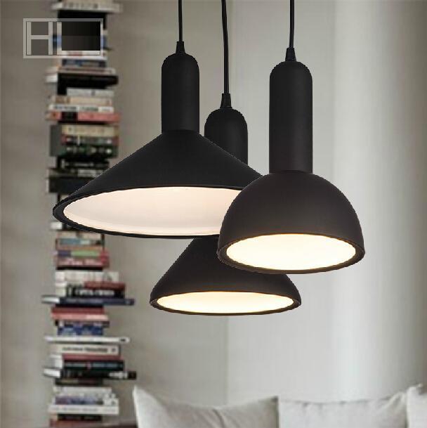 ФОТО New Pendant light British Minimalist living room / hotel project / restaurant aisle / stairs / aluminum ceiling e27 Pendant Lamp