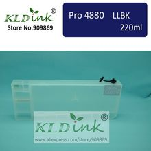 [KLD Ink] T6069 kompatibel cartridge tinta isi ulang untuk Stylus Pro 4880 Format Besar Inkjet Printer (1 cartridge dengan chip)(China)