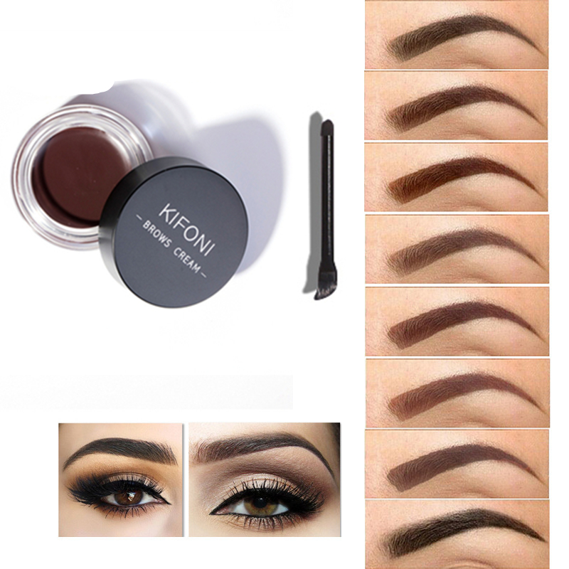 8 Colors Eyebrow Gel Durable Eyebrow Pomade Gel Waterproof Maquiagem Makeup Accessories Eyebrow Pomade Gel Drop ship
