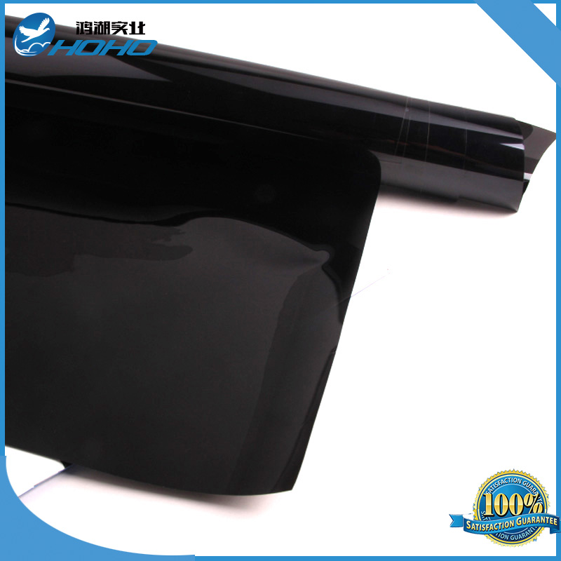 2ply 5ftx33ft 5 vlt dark black privacy car home glass for 2 ply window tint film