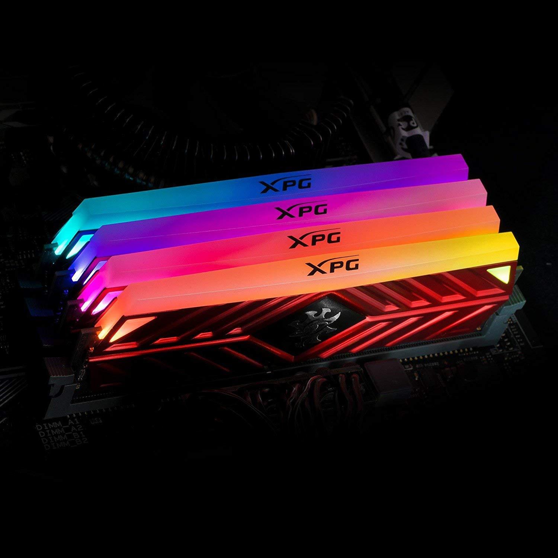 Nouveau XPG Spectrix D41 RAM 16G Double 8G 3200 HZ DDR4 RGB Module de mémoire lumière meilleures RAM pour PC Gamer