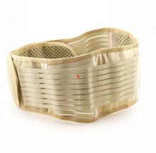 Ayuda de La Cintura turmalina Cinturón autocalentamiento Lumbar Warmer Turmalina Ajustable Terapia Magnética Volver Brace Calefacción Espontánea