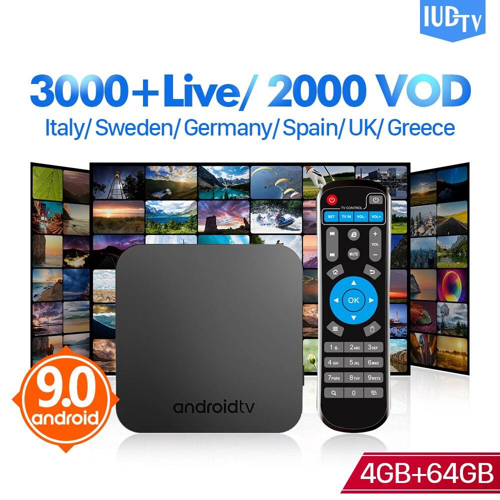 Europe IPTV IUDTV Code IPTV espagne italie suède IP TV KM9 Android 9.0 TV Box S905X2 4GB 64GB allemagne royaume-uni grèce IPTV indien IP TV