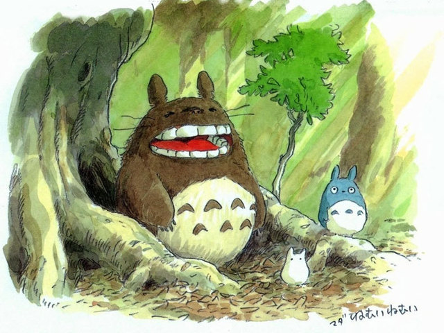 """925 sidabrinis mielas """"Totoro"""" karoliai"""