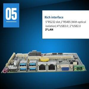 Image 5 - Mainboard intel 6th 7th Gen i7 מעבד משולב intel Skylake Kabylake i7 7500U מעבד 4Gb ram תעשייתי האם