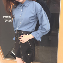Chiffon Blouse 2019 Fashion Long Sleeve Women Blouses and Tops Skew Collar Solid Office Shirt Casual Tops Blusas Chemise Femme 2019 hot sale spring women shirts tops long sleeve bow collar solid ladies chiffon blouse tops ol office style chemise femme