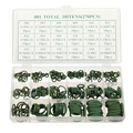 270 Pcs 18 Sizes Assortment Kit Air Conditioning HNBR O Rings Set Car GREEN