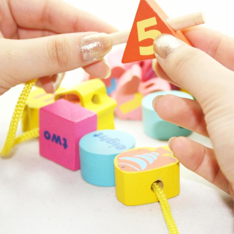 36 unids preescolar rompecabezas de madera educativos juguetes para - Juegos y rompecabezas - foto 2