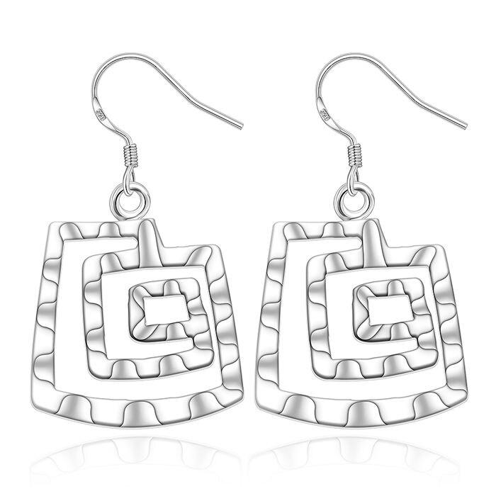 925 Jewelry Silver Plated Earrings 925 Jewelry Jewelry Flower