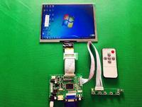 Ücretsiz kargo Yeni 8 inç HE080IA-01D 1024*768 IPS HD LCD Ekran + HDMI/VGA/AV Kontrol Ahududu Pi Için sürücü Kurulu