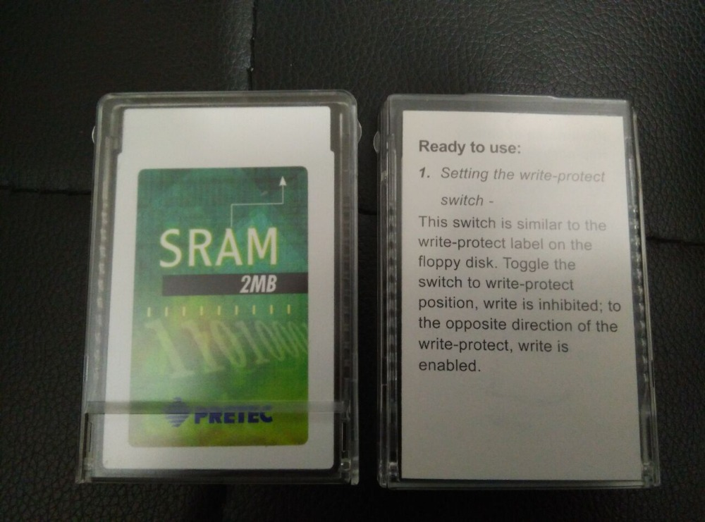 USER FOR PRETEC 2M PCMCIA SRAM Card Original 2MB Flash Memory Card