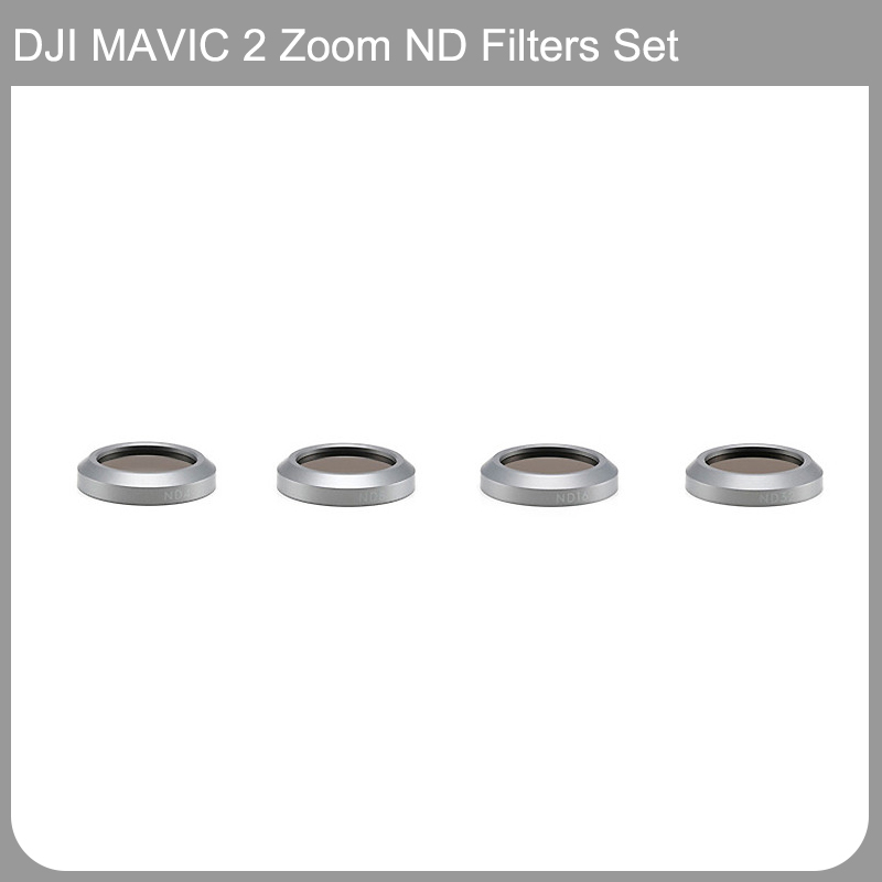 Original DJI Mavic 2 Zoom ND Filters Set (ND4/8/16/32) for Mavic 2 Camera Drone Filter 4PCS Filter Dji Mavic Accessories original dji mavic air nd filters set nd4 8 16 for mavic air camera drone filter 3pcs filter dji mavic air accessories
