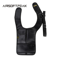 Men Underarm Shoulder Armpit Bag Phone Pouch Burglarproof Anti Theft Waist Tactical Bag Security Holster Strap