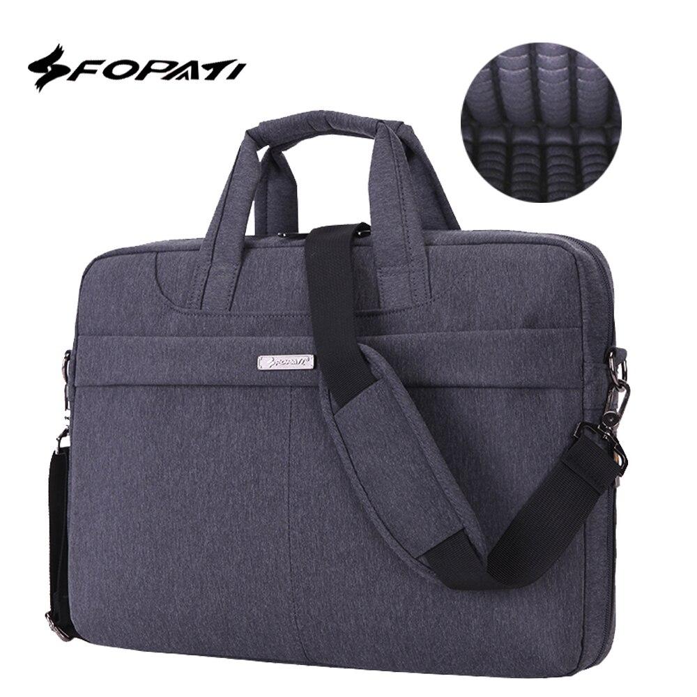 Waterproof Shockproof Laptop Bag 14 15 15.6 inch handbag Notebook Computer Unisex Briefcase Shoulder Messenger Bag Women Men