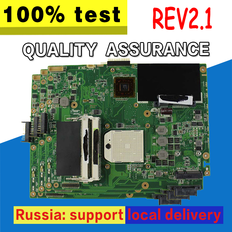 K52N Motherboard REV2.1 HD4250 For ASUS X52N A52N K52N Laptop motherboard K52N Mainboard K52N Motherboard test 100% OK for asus k52n laptop motherboard 100% tested
