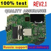 K52N Motherboard REV2.1 HD4250 For ASUS X52N A52N K52N Laptop motherboard K52N Mainboard K52N Motherboard test 100% OK