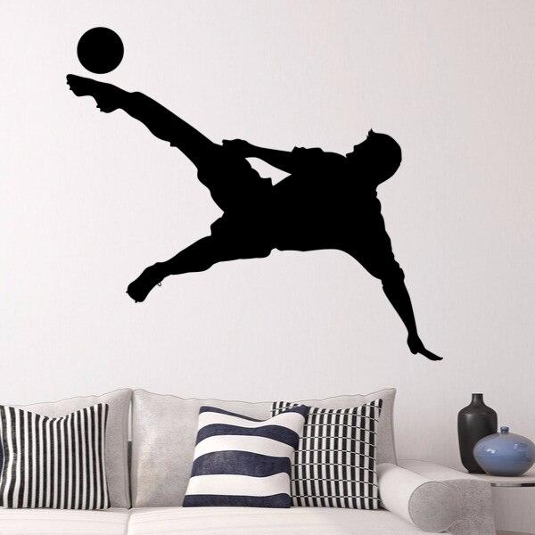 Aliexpress Com Buy G319 Soccer Shooting Custom: Football Soccer Star Shooting The Ball Sketch Fashion