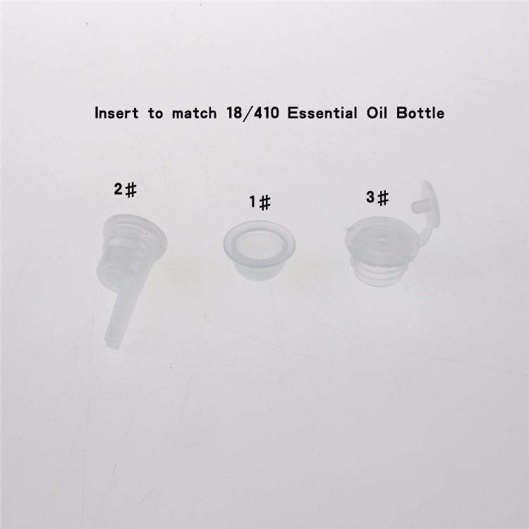 Insert for essential oil bottle