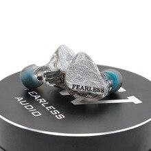 Бесстрашный аудио S4 S5h/S5t S6Rui/S6Pro балансными арматурными внутриканальный монитор HiFi наушники Съемная 0,78 мм 2Pin кабель индивидуальные IEM