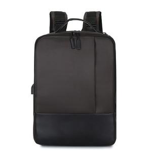 Anti-roubo mochila portátil impermeável racksack com porta usb para o negócio do curso YS-BUY