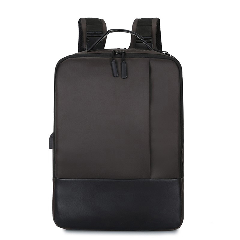 Anti-theft Laptop Backpack Waterproof Racksack with USB Port for Travel Business YS-BUY image
