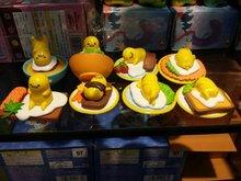 Anime Gudetama Gudetama Perezoso Huevo Huevo Juguetes Figura de Acción DEL PVC Modelo Muñeca Juguetes Para Niños Brinquedos 8 unids/lote Envío Libre GA0186
