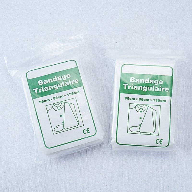 5 Bag/lot Non-woven Triangular Bandage Medical Burn Dressing Bandage Triangular First Aid Kit Wrap Bandage Fracture Fixation