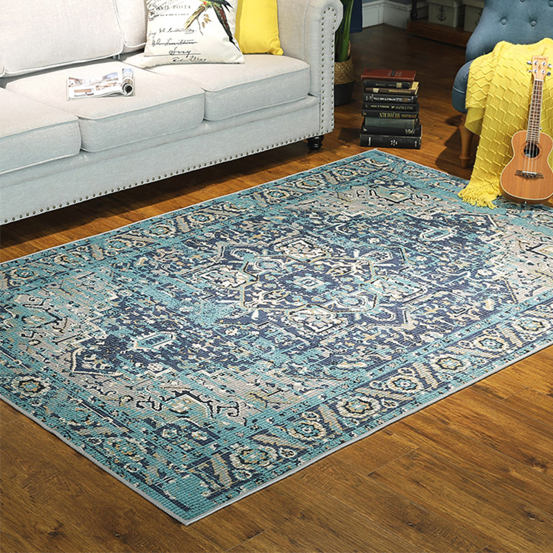US $48.33 42% OFF Vintage Carpets For Living Room American Persian Style  Rug Bedroom Carpet Sofa Coffee Table Floor Mat Moroccan Rugs Home Decor-in  ...