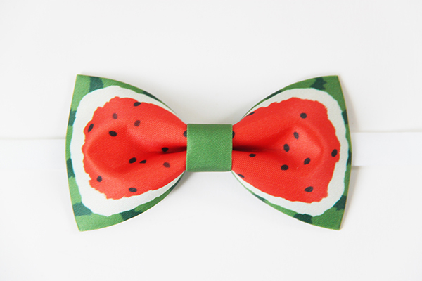 New Free Shipping 2016 casual Men's male Fashion The original design Handmade watermelon stamp  groom bow tie groomman wedding