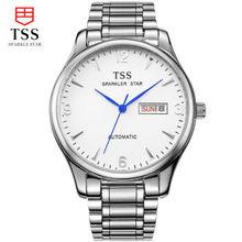 TSS relogio masculino Luxury Brand Аналоговый спорт Наручные Часы Отображения Даты мужская Механические Часы Бизнес-Часы Мужские Часы T8019