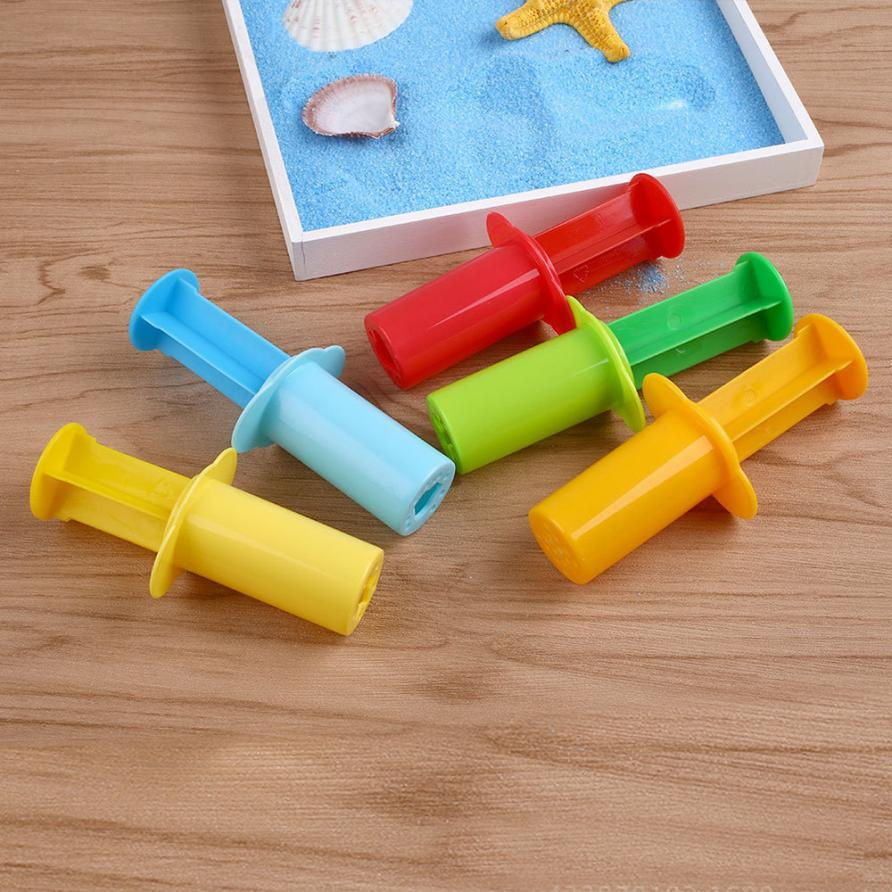 NEW Fluffy Slime 1 Set(5PC) Dough Tools Kit with Models Clay DIY Assorted Plasticine DIY Sludge Funny TOOLS Toy drop shipping