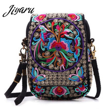 ФОТО thailand hmong national embroidered bags chinese style embroidered shoulder bag lady travel shopping handbag