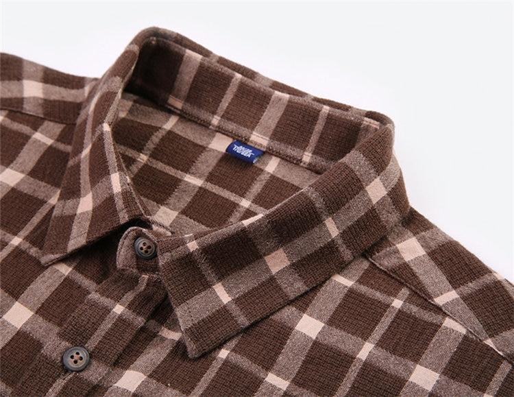 Herrenbekleidung & Zubehör 2019 Frühling Herbst Männer Kariertes Hemd Britischen Stil Mann Business Hemd Casual Marke Gentry Langarm Marke Männlichen Kleidung Verkaufsrabatt 50-70%
