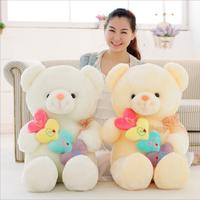 50cm Stuffed Animal Plush Love Heart Bear Girl Kid Valentine Day Birthday Gift
