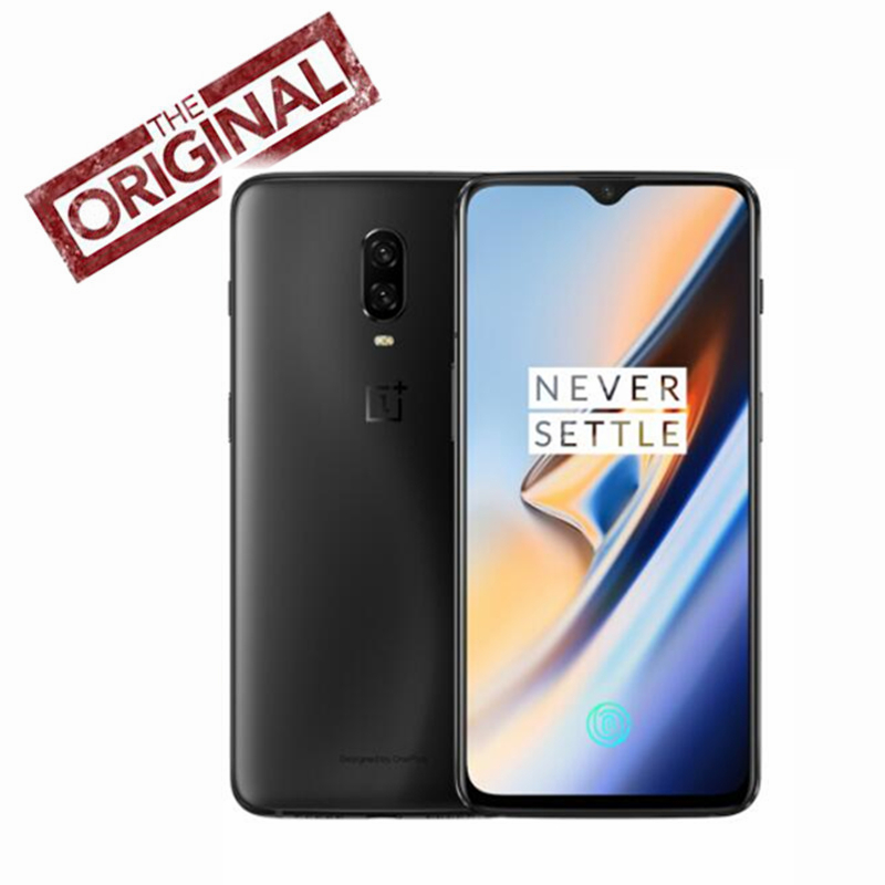 Global Rom OnePlus 6T Mobile Phone Snapdragon 845 4G LTE 6 41 NFC 3700mAh AI Camera