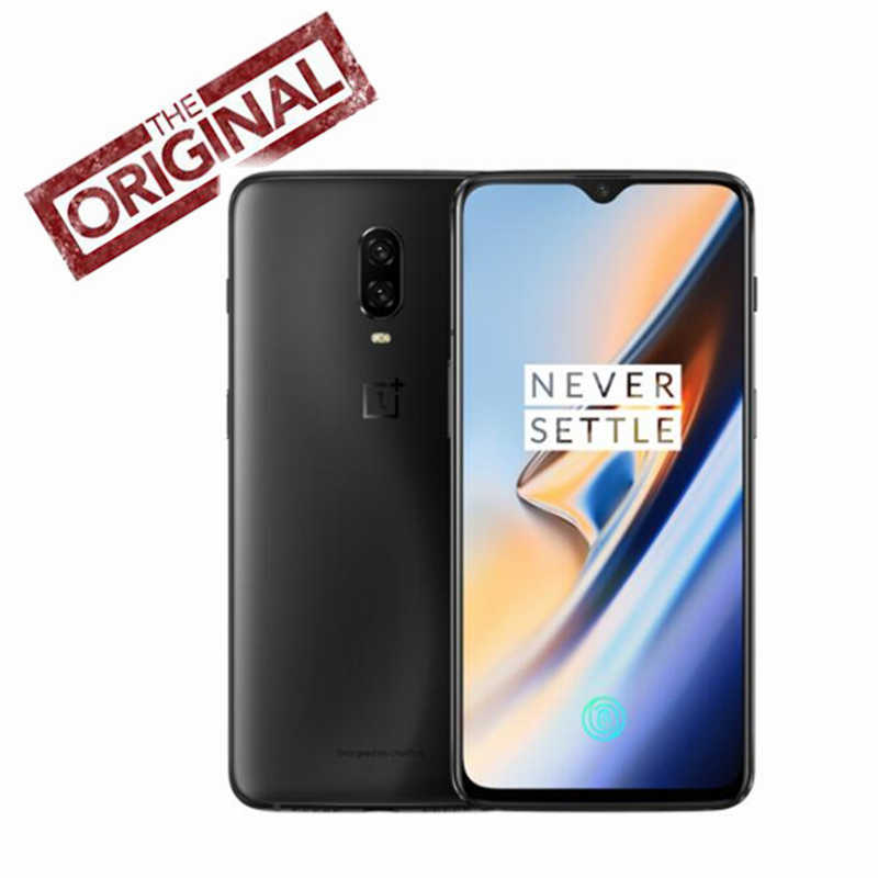 Global Rom OnePlus 6T Mobile Phone Snapdragon 845 4G LTE 6.41''  NFC 3700mAh AI Camera 20.0+16.0MP Android 9.0 One plus 6T Phone