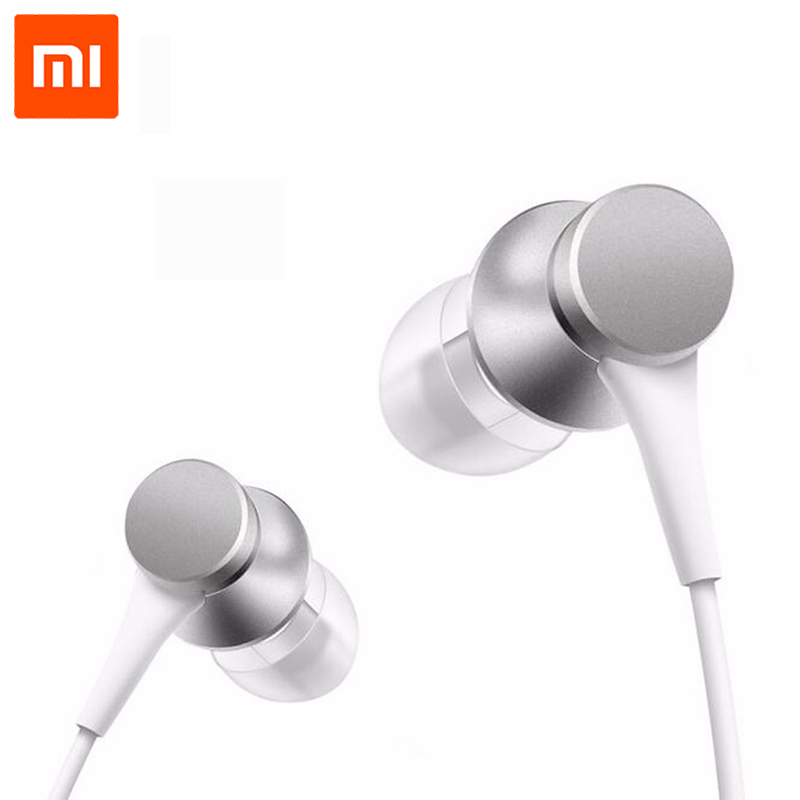 Newest Original Xiaomi Piston 3 Fresh Edition Earphone with Mic Remote Headset for Xiaomi Redmi Red Mi Mobile Phone In-Ear ...