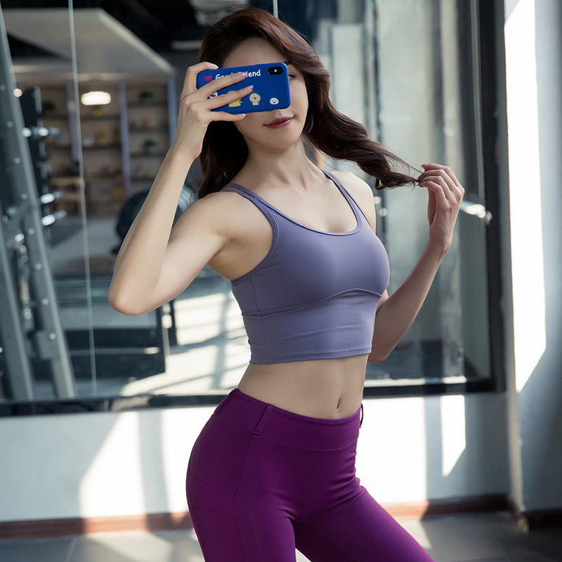 New Ladies Casual Stretchy Cami Vest Gym Exercise Sports Yoga Running Top F425