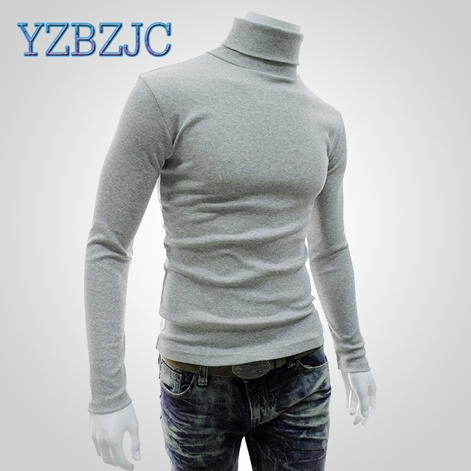 2018 New Autumn Winter Men'S Sweater Men'S Turtlen...