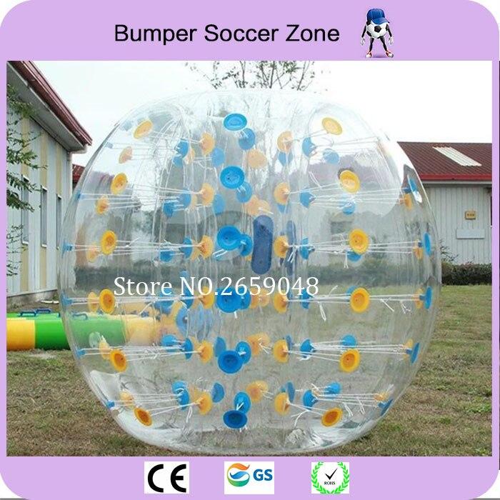 Transport gratuit de 1.5m înălțime de calitate TPU Ball Bubble Gonflabile Zorb Ball Bubble Soccer Bubble Soccer Ball Omului Hamster Ball