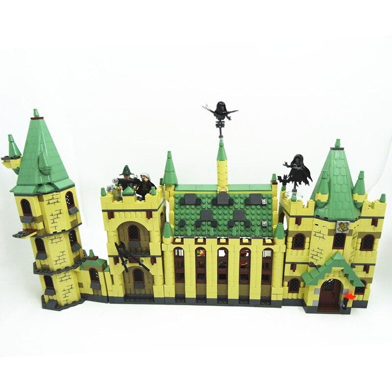 Movie Series The Hogwarts Castle Set 4842 1340pcs Building Blocks Bricks