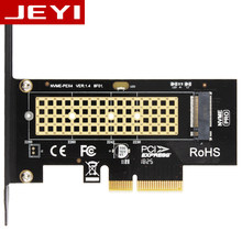 JEYI SK4 M.2 NVMe SSD NGFF TO PCIE X4 adapter M Key interface card Suppor PCI Express 3.0 x4 2230-2280 Size m.2 FULL SPEED good(China)