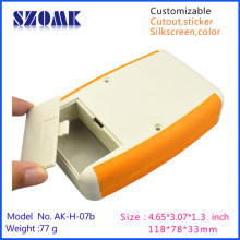 4 pieces a lot, 118*78*33mm electronics instrument enclosure abs plastic handheld case hot sales housing