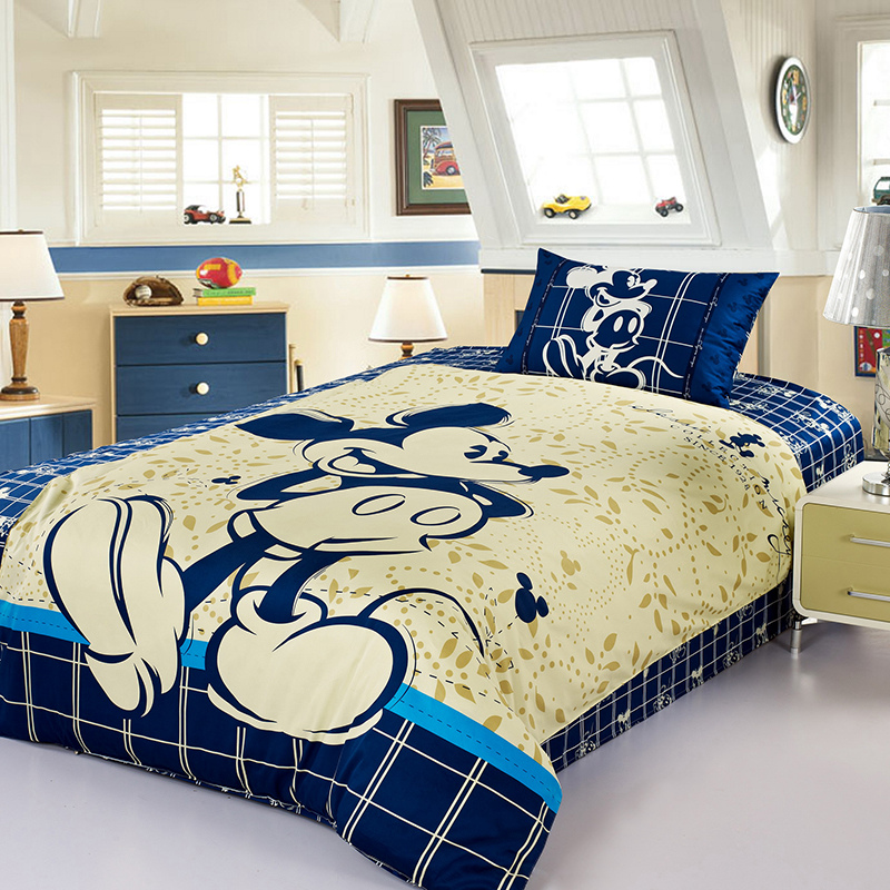 disney bedroom furniture disney mickey mouse bedding set 100 cotton duvet 11438