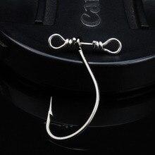 WALK FISH 20PCS/Lot High Carbon Steel Fishing Hooks 2.5cm 0.4g Crank Hook Offset Fishhooks for Soft Worm Bait with Balance Anzol