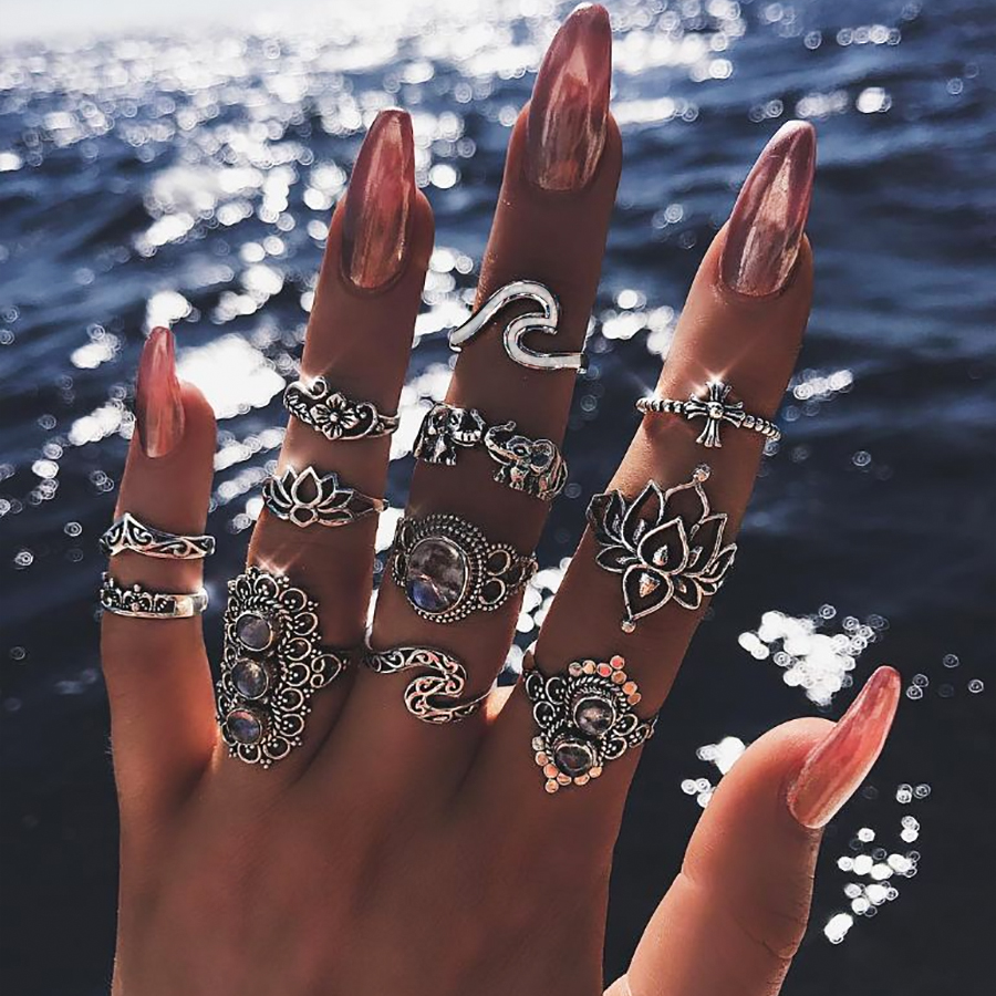 Boho Chic Rings For Womens