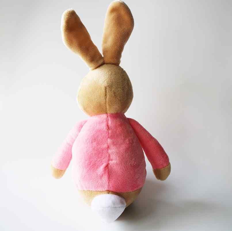 d3dae8c2803 ... 27cm Cartoon Peter Rabbit Pink Lily Bobtail Beans Plush Bunny Girl Movie  Figure Plush Toy Dolls