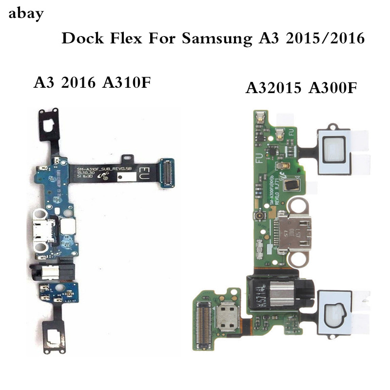 New Charging Connector For Samsung Galaxy A3 2015 2016 A310F A300F Charger USB Dock Port Flex Cable Replacement Parts