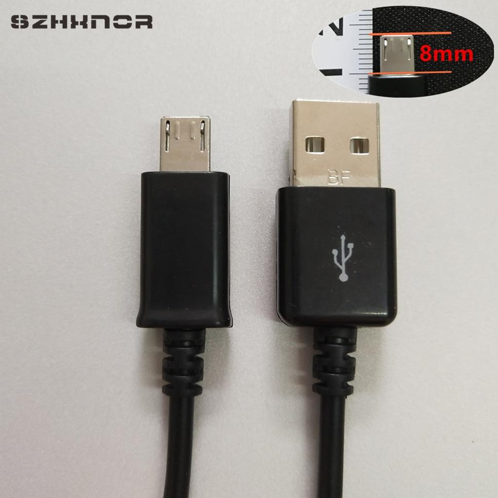 8mm Long Tip Micro USB USB 2A Fast Charger Data USB for for blackview ip68 BV6000 BV5000 Homtom ht50 ZOJI Z6 Z7 UHANS K5000